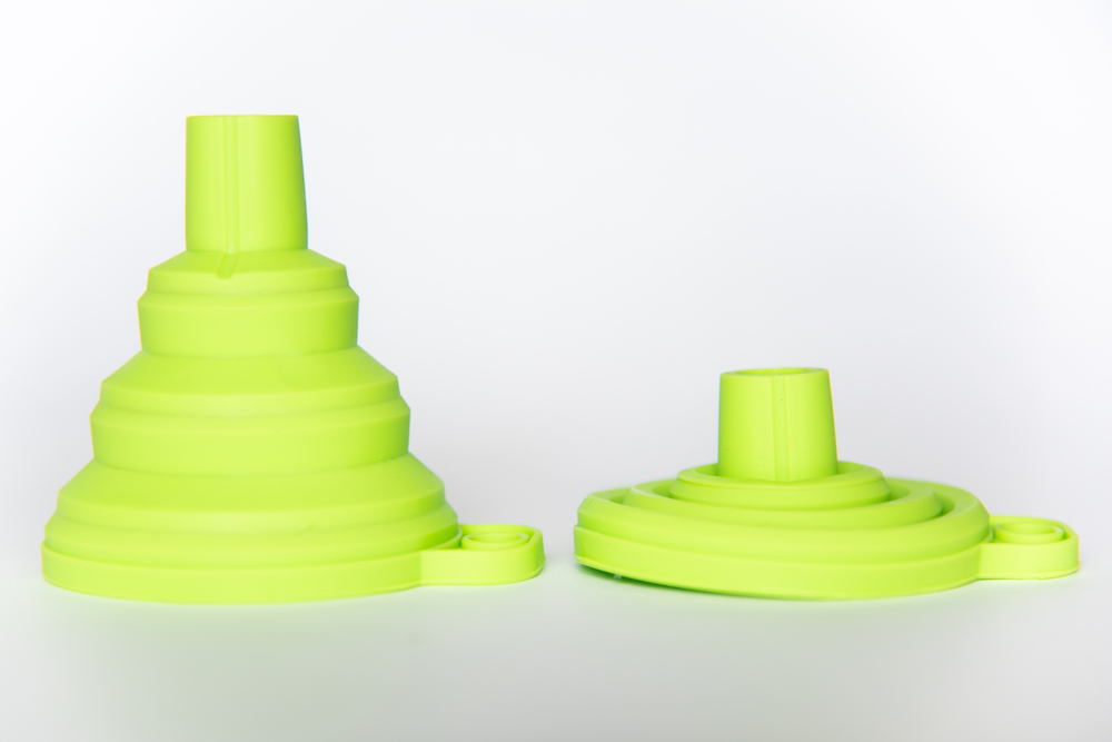 Green Collapsible Funnel image